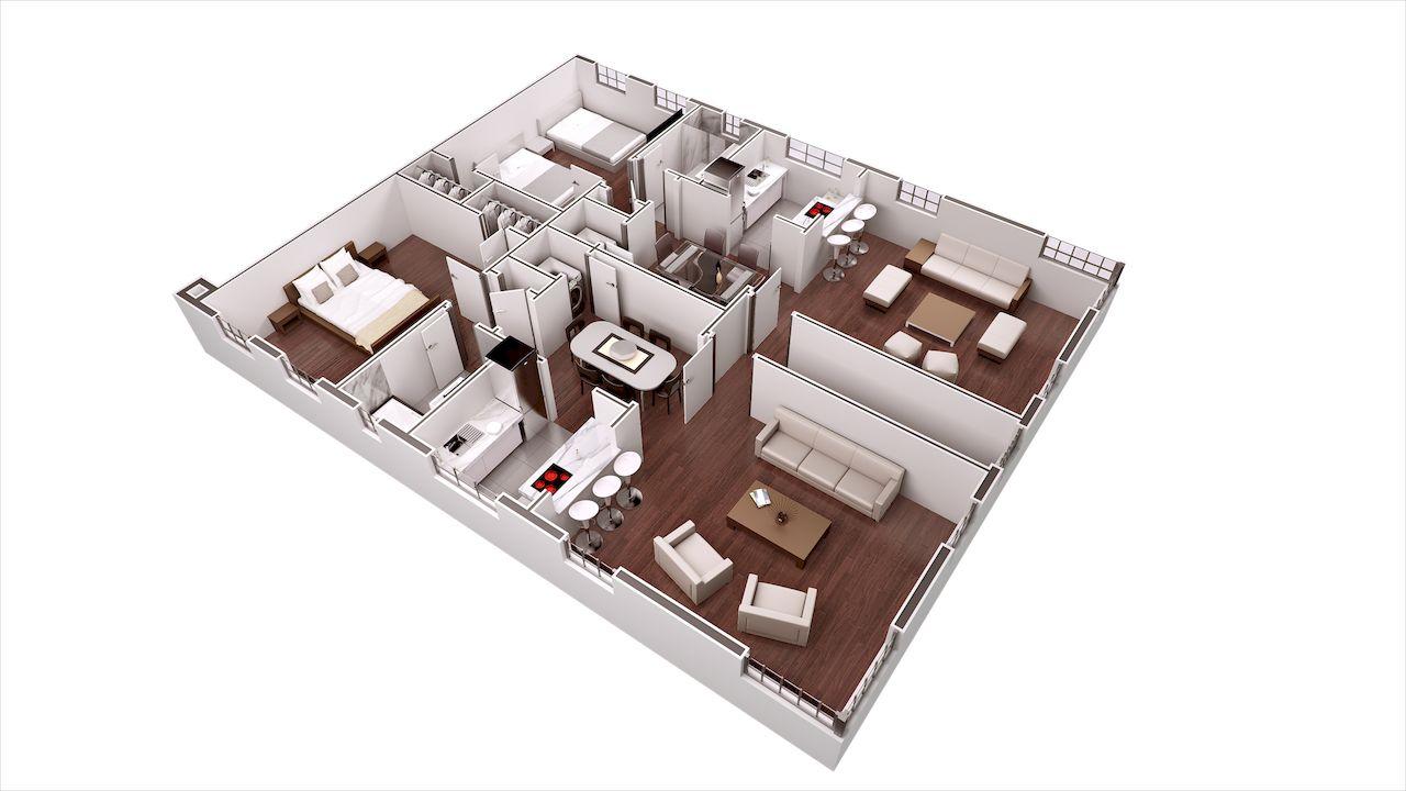 3D Site Plans - 3D Site Plans - Rendering Service